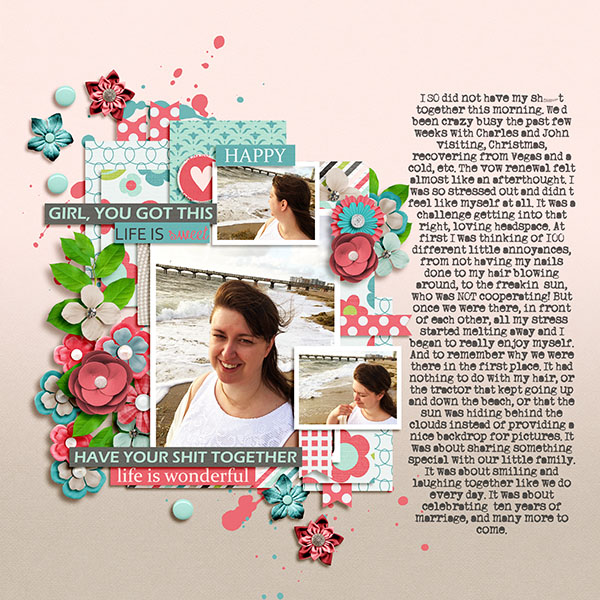 Cherry on Top Essentials bundle, Splatters, and Wordbits by JB Studio